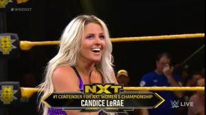 Candice LeRae Earns WWE NXT Women's Title Shot, Has Staredown With Shayna Baszler (Video, Photos) - Wrestling Inc.