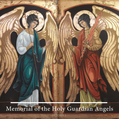 "Our Sunday Visitor on Twitter: ""It's the memorial of the Holy Guardian  Angels. Angel of God, my guardian dear, To whom God's love commits me here,  Ever this day, be at my"