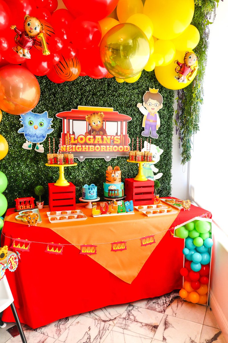 Vanessa Diaz On Twitter Check Out All The Detail Of Our Daniel Tiger 1st Birthday Party Https T Co Erqrd4xhxu Danieltigerparty Danieltigersneighborhood Danieltigercake Https T Co Amjqbrcprk