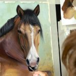 Nastya On Twitter Https T Co Hcmirgfick New Oil Painting Tutorial How To Paint Horse Portrait In Full Face Step By Step With English Subtitles Art Artist Artcontemporain Https T Co Zam7jhnnry