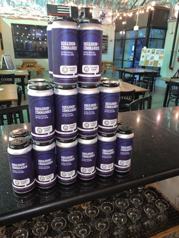 Image result for Squadron Commander Tucked Away Brewing