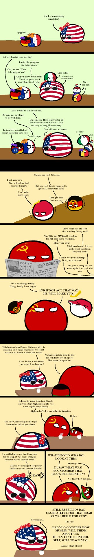 Countryballs New Cold War By Gtacartoons On Deviantart