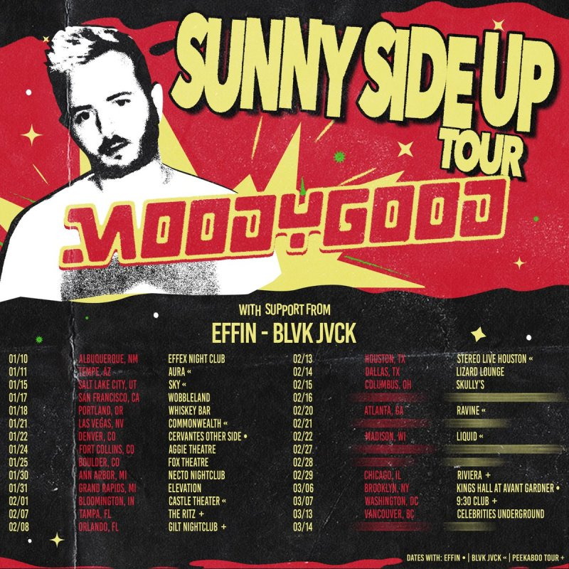Image result for moody good Sunny Side Up tour dates