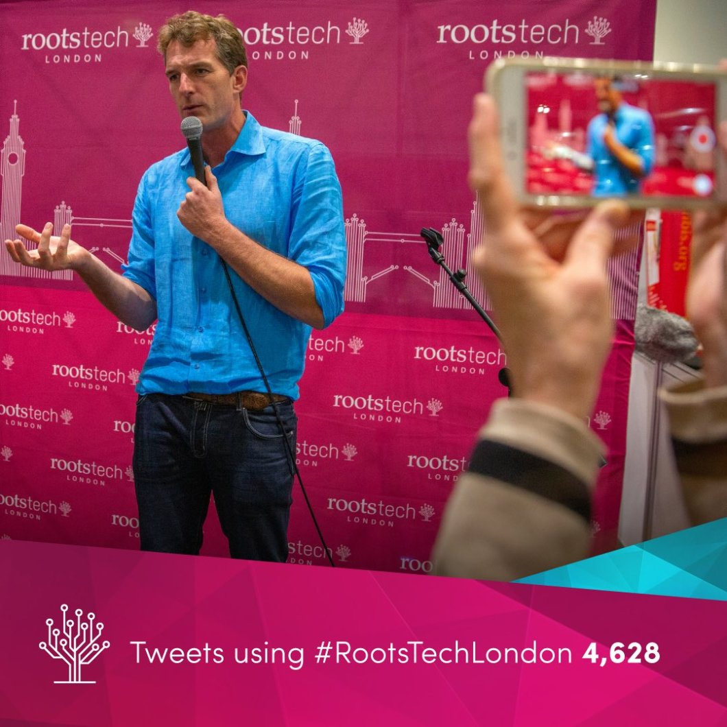 Statistics showing Rootstech London had a super turnout! #rootstechlondon