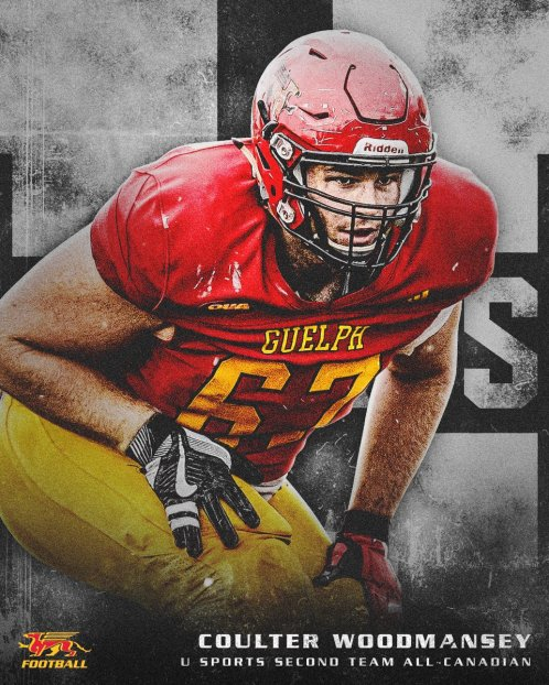"GryphonFootball on Twitter: ""🚨 ALL-CANADIAN 🚨 Coulter Woodmansey ..."
