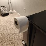 Mark Bereza On Twitter Life Hack 364 Your Headset Stand Can Double As A Toilet Paper Holder For When You Ve Got The Sniffles