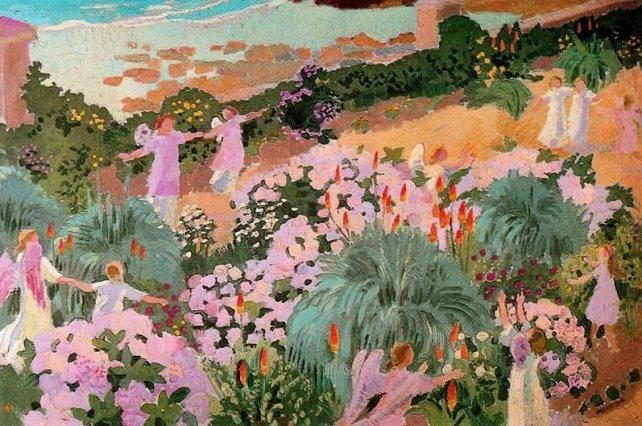 """Sanatın Tarihi on Twitter: """"Maurice Denis, """"Cennet"""" 1912.… """""""