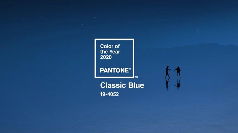 Classic Blue, Pantone 2020