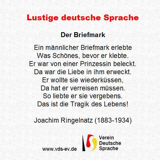 Geburtstagsgedichte Joachim Ringelnatz Mariaangierosa Web