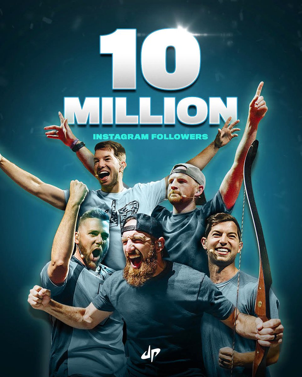 dude perfect on twitter 10 milly on