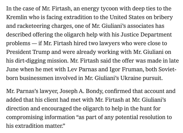 , Rudy Plot actually thickening with Ukrainian oligarchs Dimitri Firtash and Ihor Kolomoisky, The Politicus
