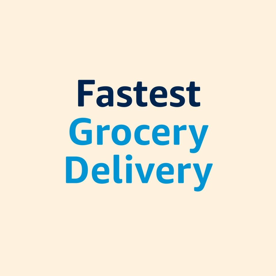 Image for the Tweet beginning: From grocery delivery to Amazon