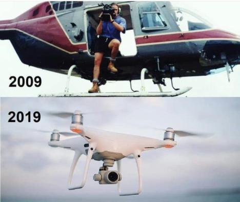 "Ken Rutkowski on Twitter: ""In just 10 years both camera man and ..."