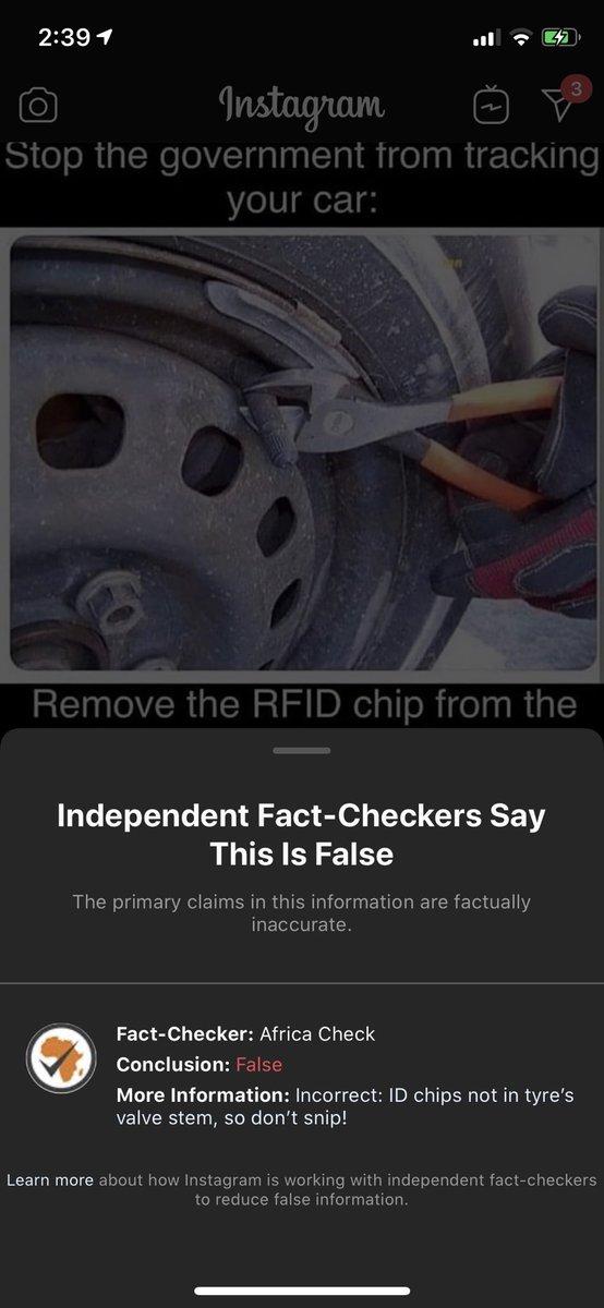 Instagram Hides False Content Behind Warnings Except For