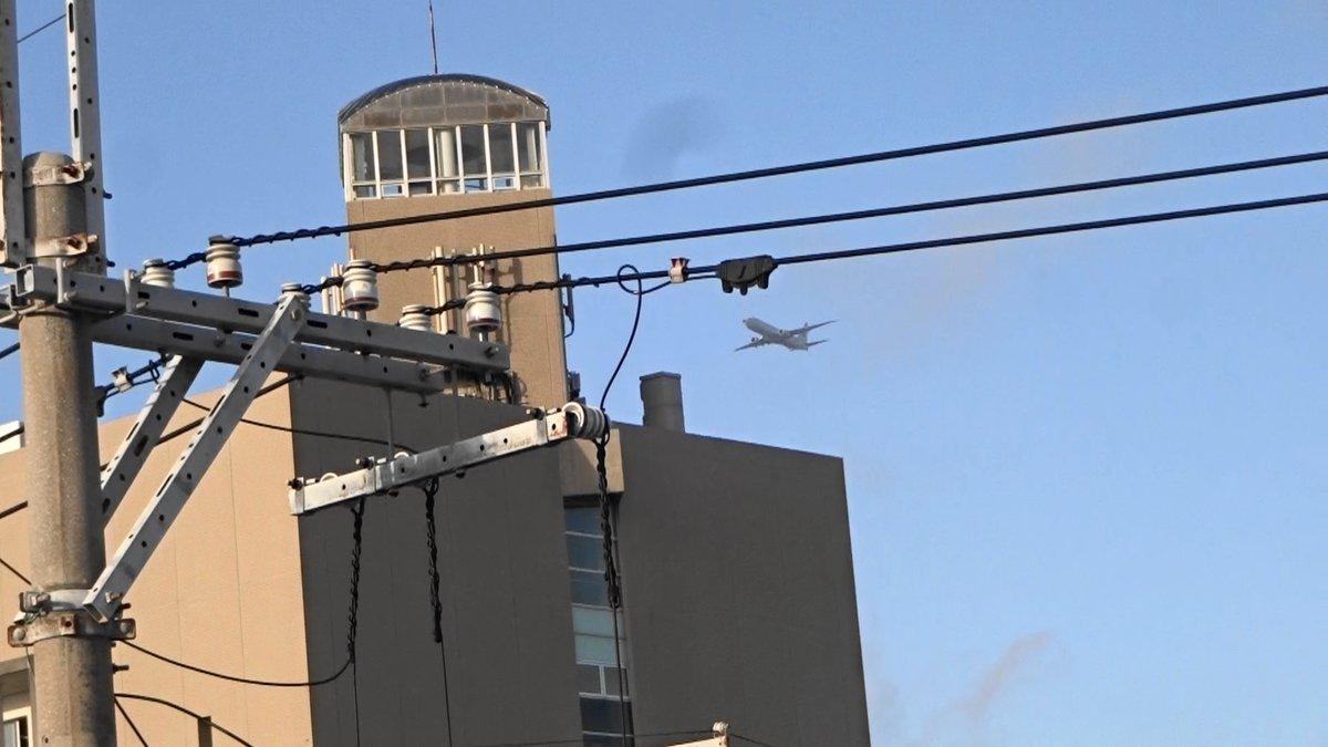 test ツイッターメディア - 沖縄市役所の真上を通過)2019年12月17日午後4時10、14、19分嘉手納米軍基地。沖縄市住民地域上空で、爆音と排気ガスを撒き散らし違反飛行を繰り返すP8。危険極まりない、生活環境破壊、人権侵害だ!米軍は沖縄から出て行け!https://t.co/cZ7L0QWvLq https://t.co/ExBWRJE0jD