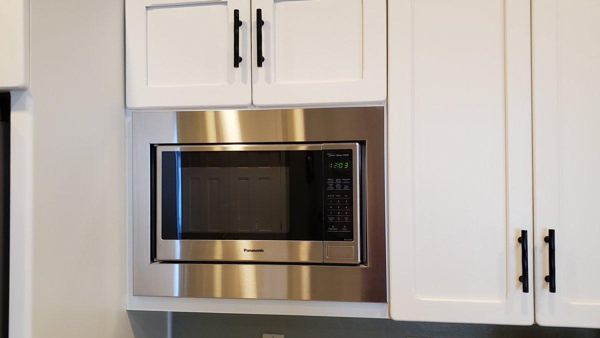 custom microwave trim kit