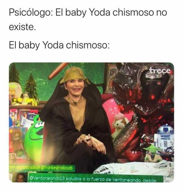 Dopl3r בטוויטר Psicologo El Baby Yoda Chismoso No Existe El