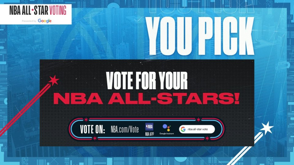Don't miss your shot! 🏀 Time is running out to nominate your #NBAAllStar starters, right in Search. Cast your vote here → https://t.co/PWvsI1tTxP #VoteNBAAllStar