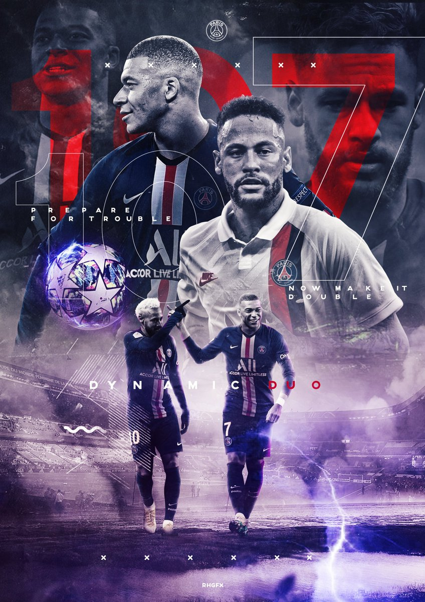 wallpaper mbappe neymar psg
