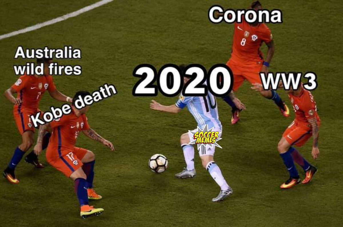 Soccer Memes On Twitter 2020 Has Been A Tough Year So Far