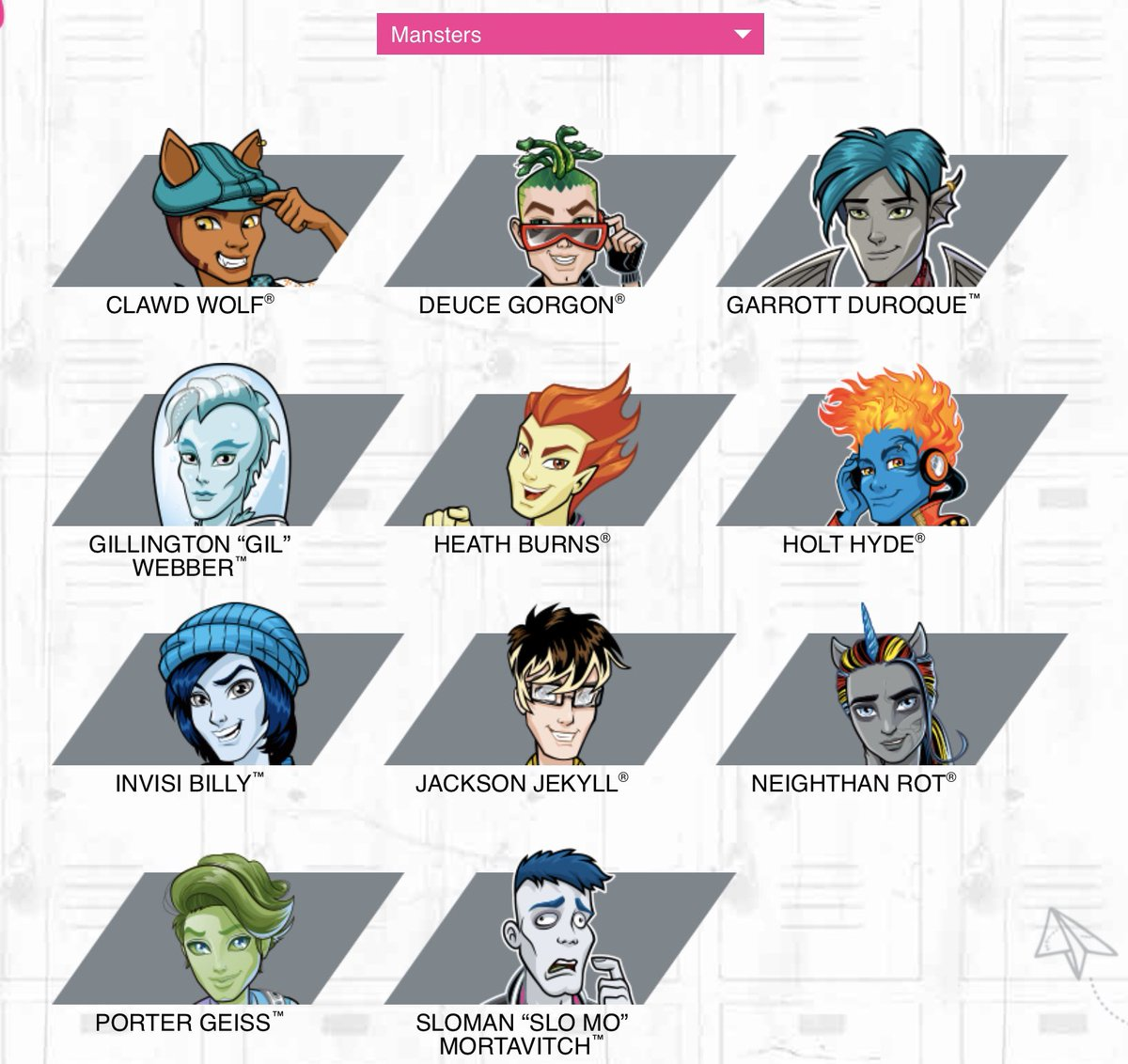 Kelly Turnbull On Twitter Monster High Called All The Boy Characters Mansters And I Hope Someone Got A Promotion For That