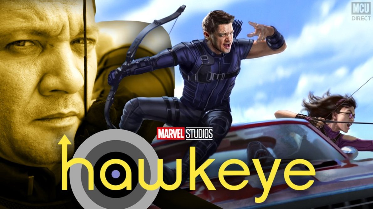"""MCU - The Direct on Twitter: """"RUMOR: The #Hawkeye @disneyplus series is  reportedly now set to start filming in September! https://t.co/UREuf2WzIB… """""""