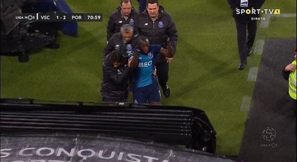 Porto: victim of racist songs, Franco-Malian striker Moussa Marega leaves the stadium