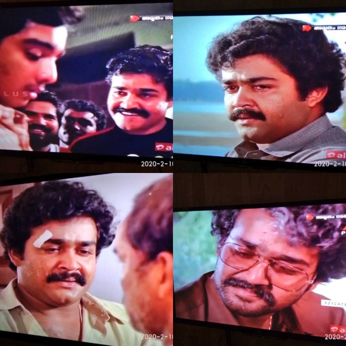 """Rajagopal CV na Twitteri: """"Because today is #OscarAwards and all posting  pics from one of the underrated performances of #Mohanlal. He plays a 20  year college student, 30 something doctor & finally"""