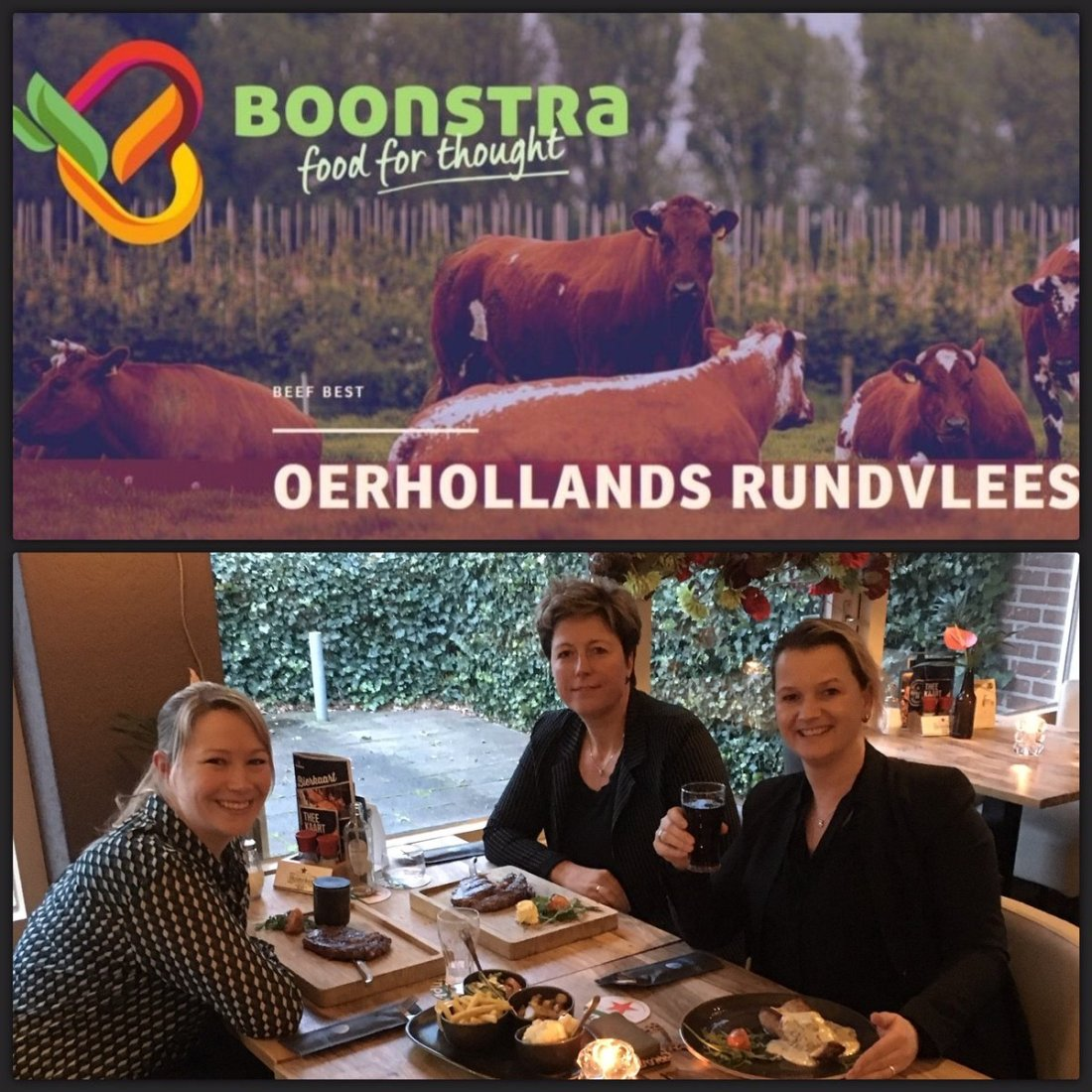 Afgelopen dinsdag zijn Anita, Margreet en Carina samen met een nieuwe relatie op bezoek geweest bij van den Berg VleesExperts om de mogelijkheden en diversiteit te ervaren en kennis te delen. Een bijzonder familiebedrijf, met gedreven personeel en een constante kwaliteit.