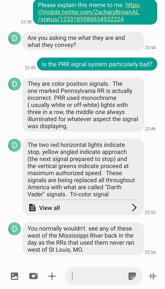 Space Enthusiast On Twitter Asked My Dad A Retired Train