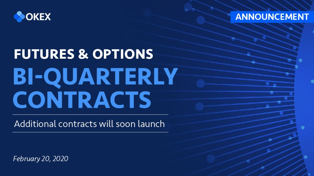 ANNOUNCEMENT: We hear you We'll soon roll out additional bi-quarterly contracts ... 6
