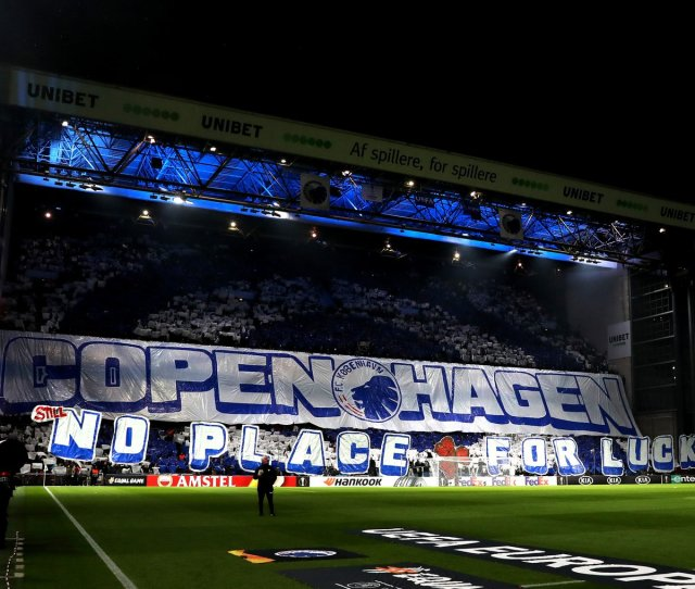 Goal On Twitter Fc Copenhagens Supporters Brought Out A