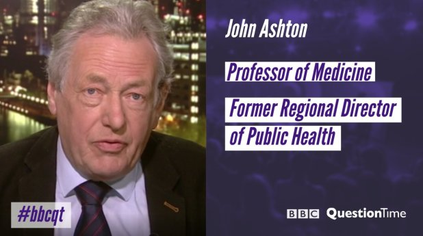 "BBC Question Time on Twitter: ""Professor John Ashton joins our panel #bbcqt… """