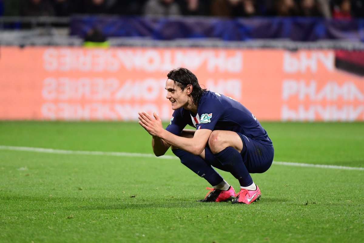 "Faisal HQ on Twitter: ""Edinson Cavani #OLPSG… """