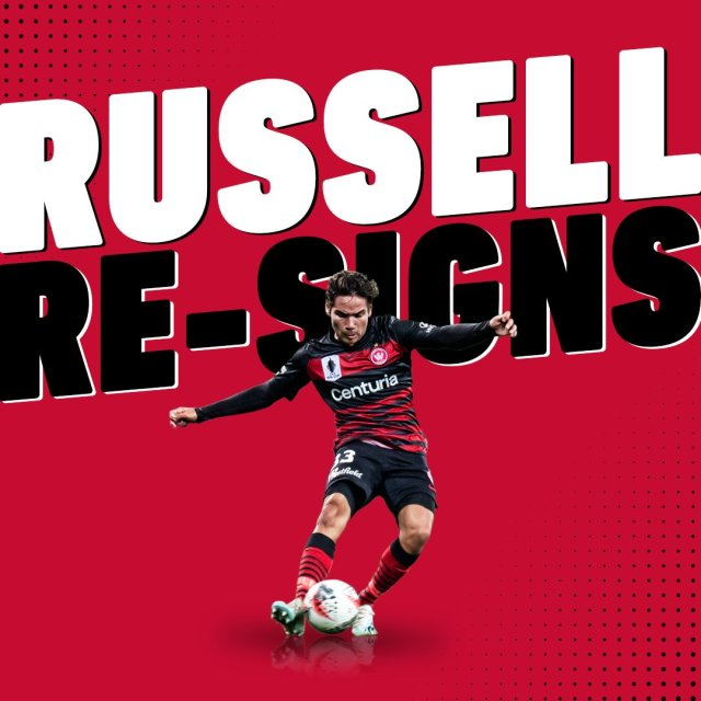 """WS Wanderers FC on Twitter: """"🔒 Russell re-signs 🔒 We are proud to announce  the signing of defender @TateRussell9 on a one-year contract extension:  https://t.co/HOng07aK4V #WSW… https://t.co/uGfMGpfIrY"""""""