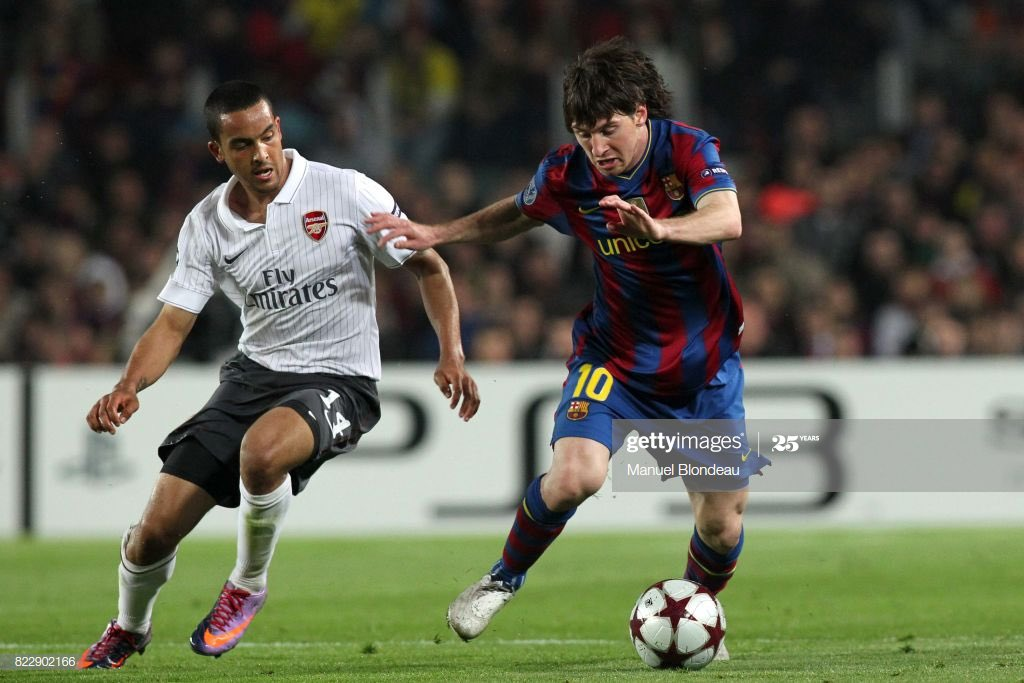 """TheAFCnewsroom on Twitter: """"Lionel Messi on Theo Walcott following this match: """"One of the most dangerous players I have ever played against.""""… """""""