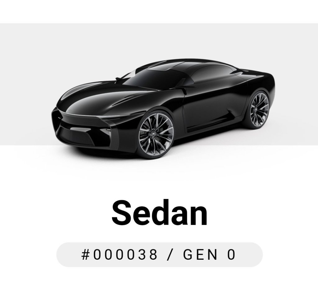 "HOT   ""Sedan"" for @CryptoMotors_io Sold on @opensea  ONLY =1 $Eth  CHECK IT OU... 5"