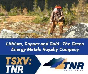 Over the past twenty-four years, #TNRGold, through its lead generator business m... 1