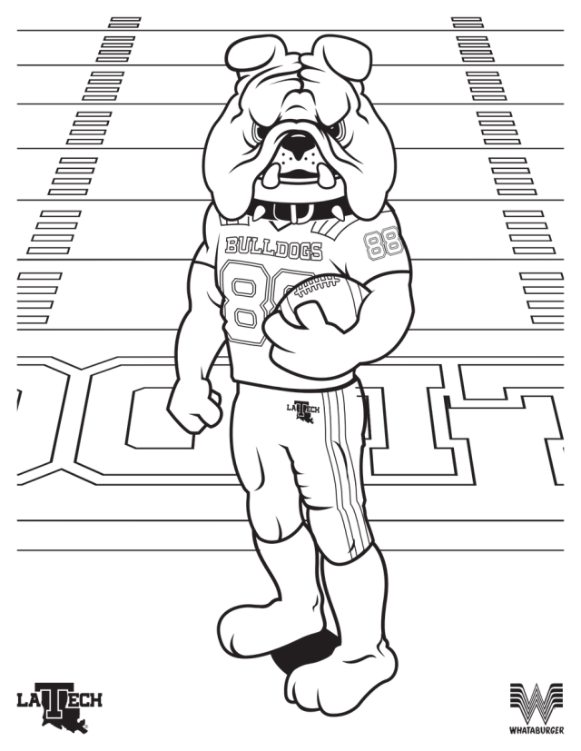 """LA Tech Sports on Twitter: """"🖍 Time to get out your crayons"""