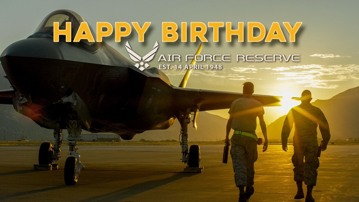 Hill Air Force Base On Twitter Happy Birthday Air Force Reserves U S Air Force Graphic By David Perry