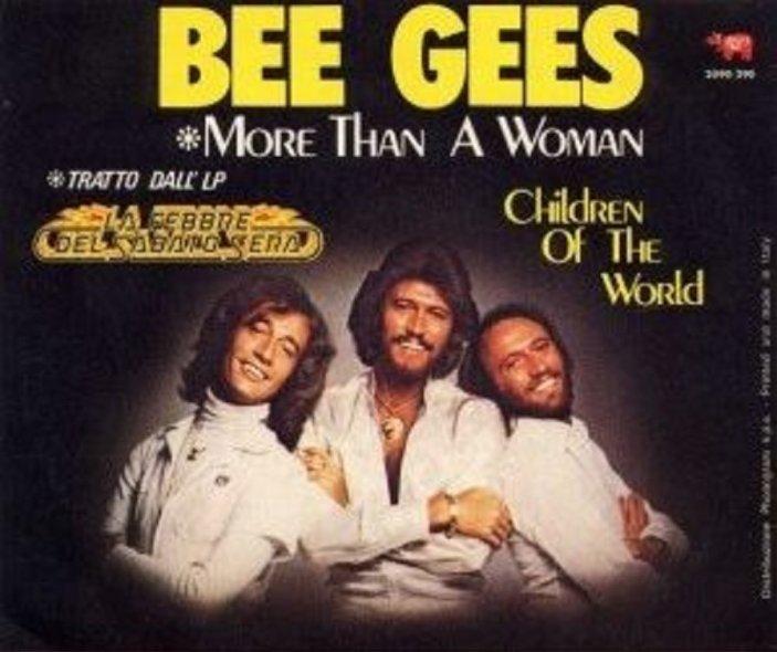 Bee Gees - More Than A Woman(1977) 歌詞 lyrics《經典老歌線上聽》
