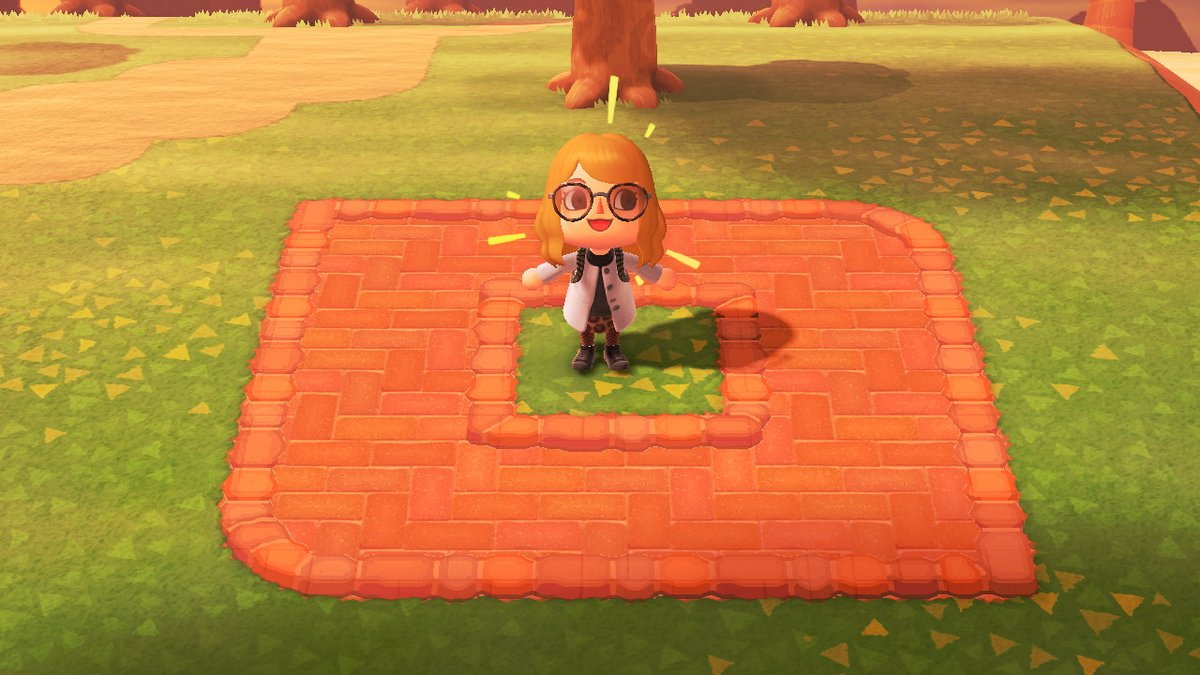 Melissa On Twitter Finished A Brick Colored Version Of The Terracotta Border Will Make A Brick Shaped Version Too Animalcrossingnewhorizons Acnh Acnhdesign マイデザイン Https T Co Hirl60nqzo
