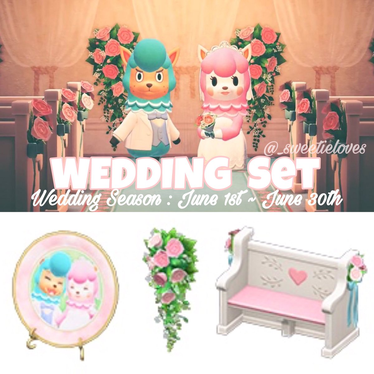Lala On Twitter Wedding Set You Can See The Full Collection On My Instagram Post Second Slide Https T Co S9j5j2hnck Acnhspoilers Acnh Https T Co Aqvvul22tr