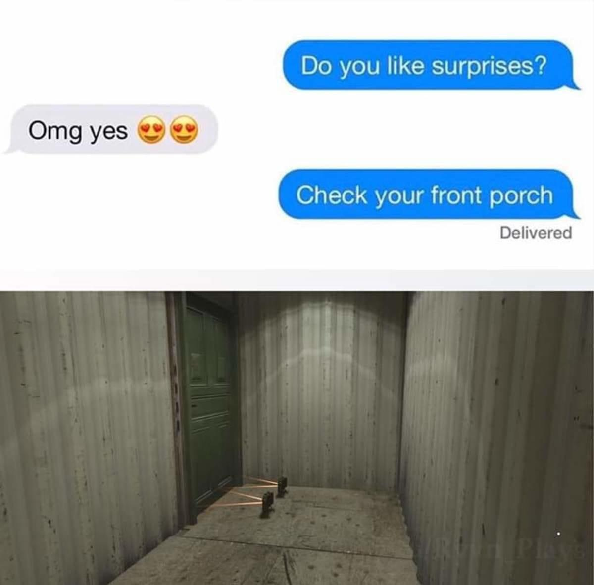 After My Wifes Valentines Day Package Was Stolen Off Our Front