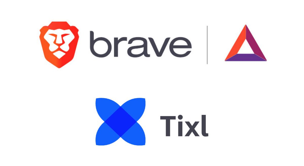 #Tixl is now a registered @brave creator.  #Welcome  You can now send tips to Ti... 1