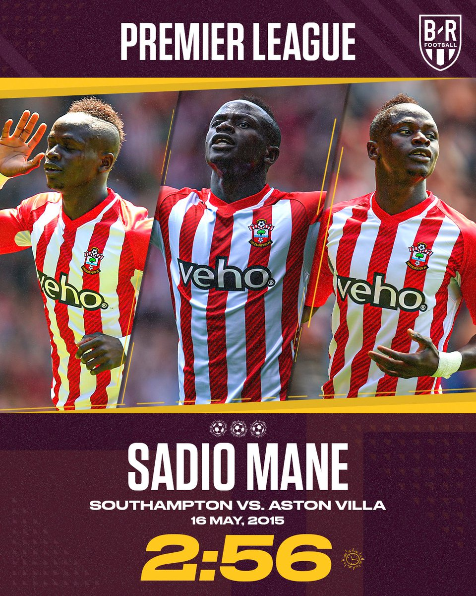 B R Football On Twitter On This Day In 2015 Sadio Mane Scored The Fastest Hat Trick In Premier League History Europe Has Seen Some Rapid Hat Tricks Https T Co O8hr71xad9