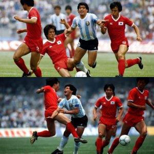 """Invictos on Twitter: """"Hoy hace 34 años, arrancaba el camino de la Selección  de Argentina en el Mundial México 1986. La albiceleste venció 3-1 a Corea  del Sur en el Olímpico Universitario."""