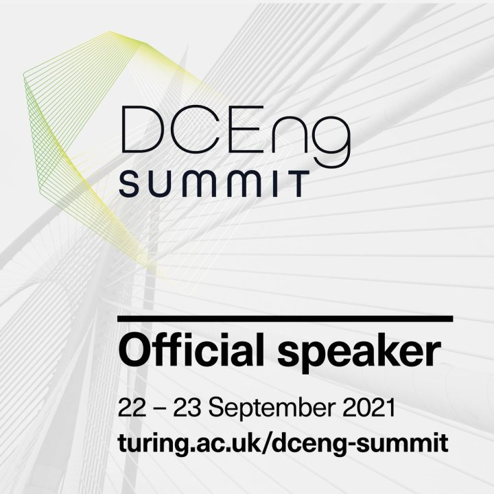 Speaker at DATA SCIENCE SUMMIT @turinginst  @uni_lu @FnrLux @SnT_uni_lu @LegatoTeam @H2020Rainbow @DPCS_uni_lu of interest to our doctoral students and post-docs - register and attend!!