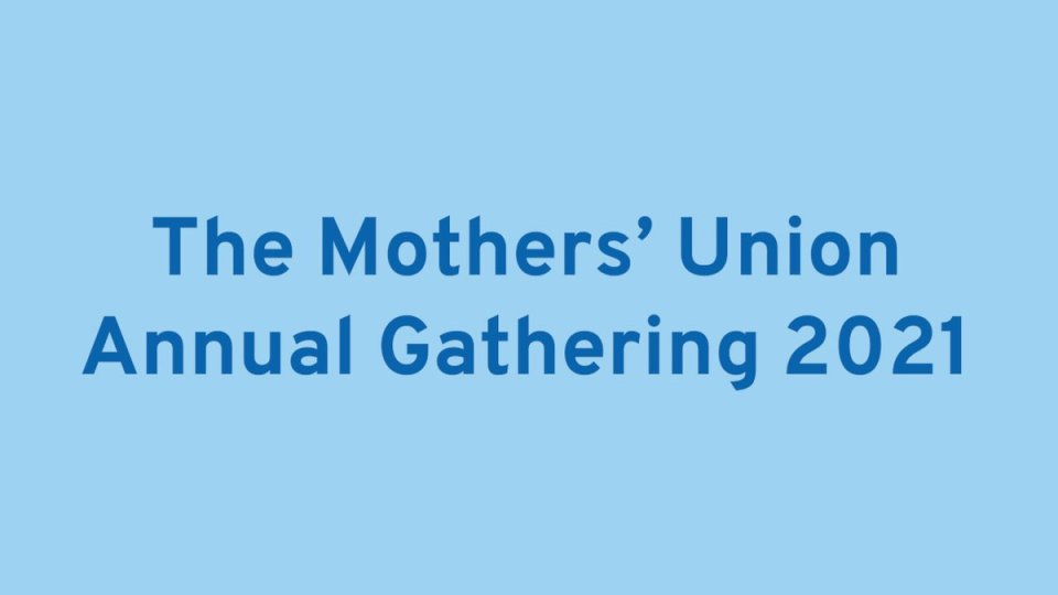 Exciting News! This Saturday is the Mothers' Union Annual Gathering.  https://t.co/dprUlSPXjj  The event is on YouTube in two sessions and will…
