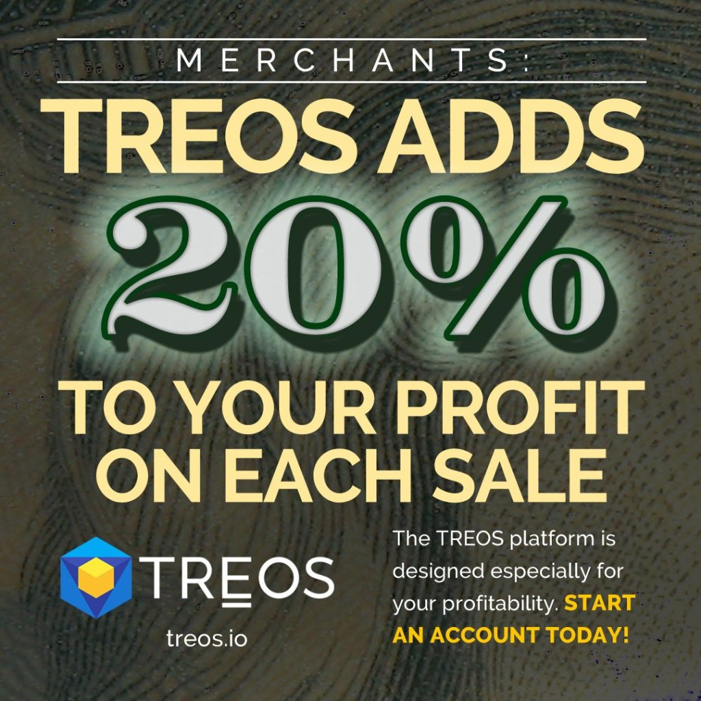 #TREOS, the Peoples Marketplace, is a platform to sell not only goods, but also ... 16